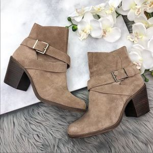 BCBGeneration Aries Boots Heeled Booties Buckle 8